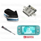 Réparation connecteur alimentation Nintendo Switch Lite