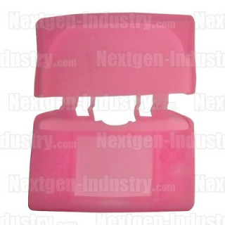 Housse silicone Rose Nintendo DS Lite