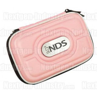 Housse rigide Rose pour Nintendo DS Lite