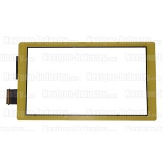 Vitre écran tactile jaune Nintendo Switch Lite