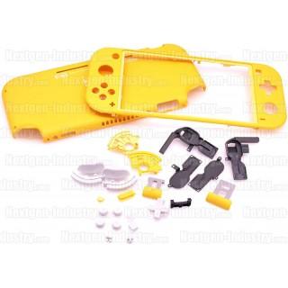 Coque Jaune + kit boutons Nintendo Switch Lite
