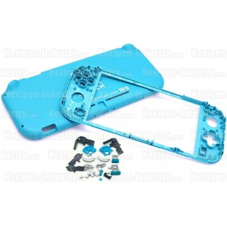 Coque Bleue + kit boutons Nintendo Switch Lite