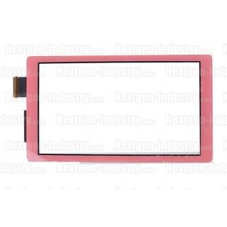 Vitre écran tactile rose corail Nintendo Switch Lite