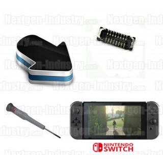 Réparation connecteur lecteur micro-sd Switch