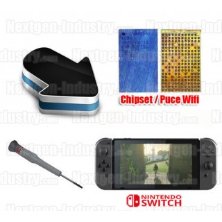 Réparation chipset puce Wifi Nintendo Switch